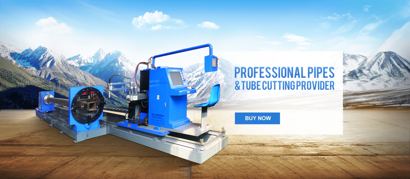 8 axis pipe tube cutting beveling machine